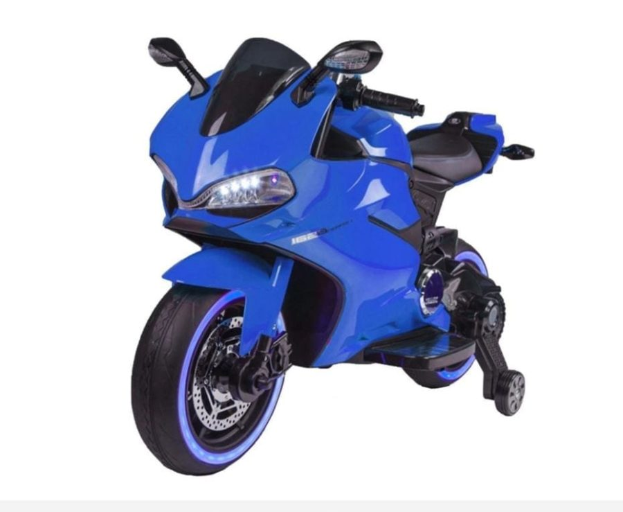 Ducati Style 12v Ride On Motorbike With Light Up Wheels