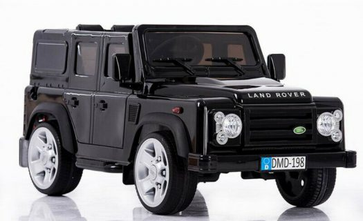 Licensed Land Rover Defender 110 12v Child's Ride On – Black