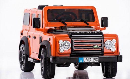 Licensed Land Rover Defender 110 12v Child's Ride On – Orange