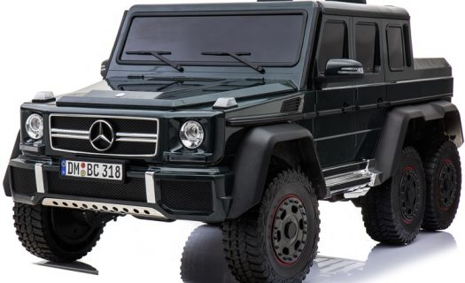 Licensed Mercedes Benz G63 6X6 Childrens Electric Ride On Jeep – Black