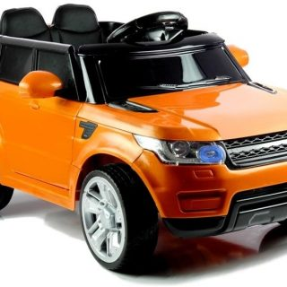 Range Rover Hse Style 12V Kids Ride On Jeep – Orange