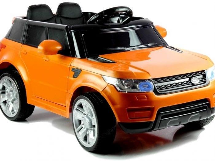 Range Rover Hse Style 12V Kids Ride On Jeep – Orange