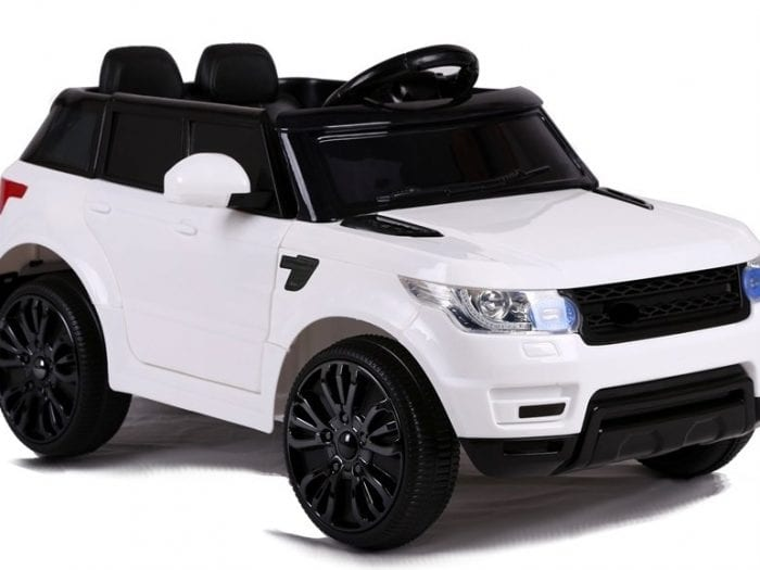 Range Rover Hse Style 12V Kids Ride On Jeep – White