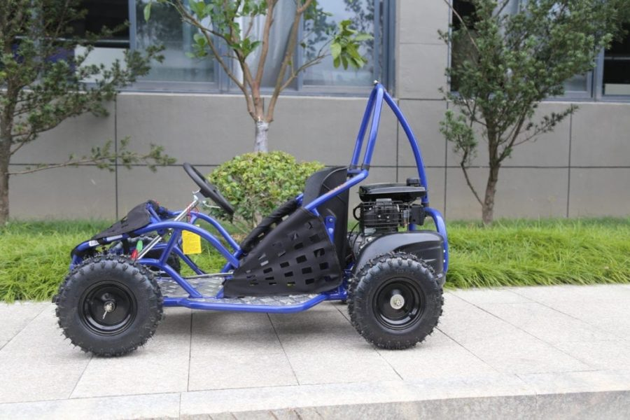 Hawkmoto 80cc Kool Kart Mud Buggy – Blue