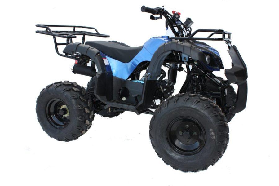 Hawkmoto Force 125cc Kids Quad Bike Blue