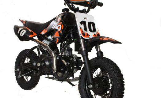 Hawkmoto Db10 110Cc Fully Auto Kids Pit Bike 4 Stroke – Orange