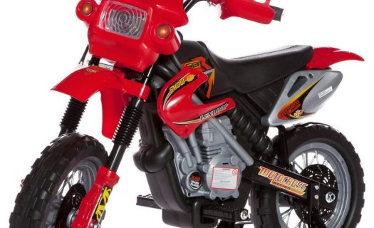 6V Kids' Electric Ride On Bike 2019 Scrambler Dirtbike – Red