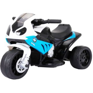Licensed Bmw S1000Rr 6V Kids Electric Ride On Trike Blue