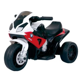 Licensed Bmw S1000Rr 6V Kids Electric Ride On Trike Red