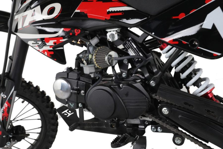 Hawkmoto Db17 Motocross Dirt Bike  125cc – Red 14|17