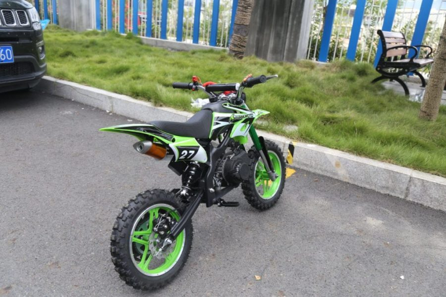 Hawkmoto Blaster 50cc Kids Mini Moto Scrambler Dirt Bike – Green