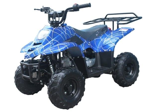 Hawkmoto 110cc Boulder Kids Quad Bike – Venom Blue