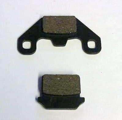 Bp001 Set Of Brake Pads Apache Bashan Quad Atv Dirt Bike Shoes 110cc 125cc 200cc
