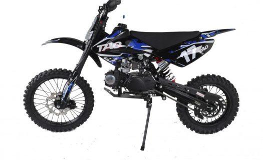 Hawkmoto Db17 Motocross Dirt Bike  125Cc – Blue 14|17