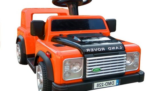 6v Foot 2 Floor Land Rover Defender – Orange
