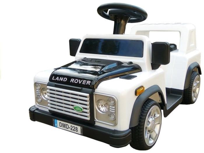 6v Foot 2 Floor Land Rover Defender – White
