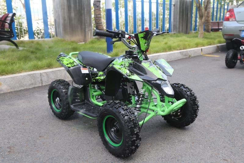 Hawkmoto Avenger 50cc Mini Kids Quad Bike – Green