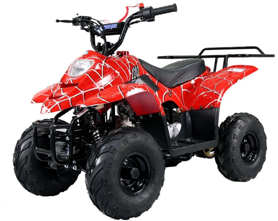 Hawkmoto 110cc Boulder Kids Quad Bike – Venom Red