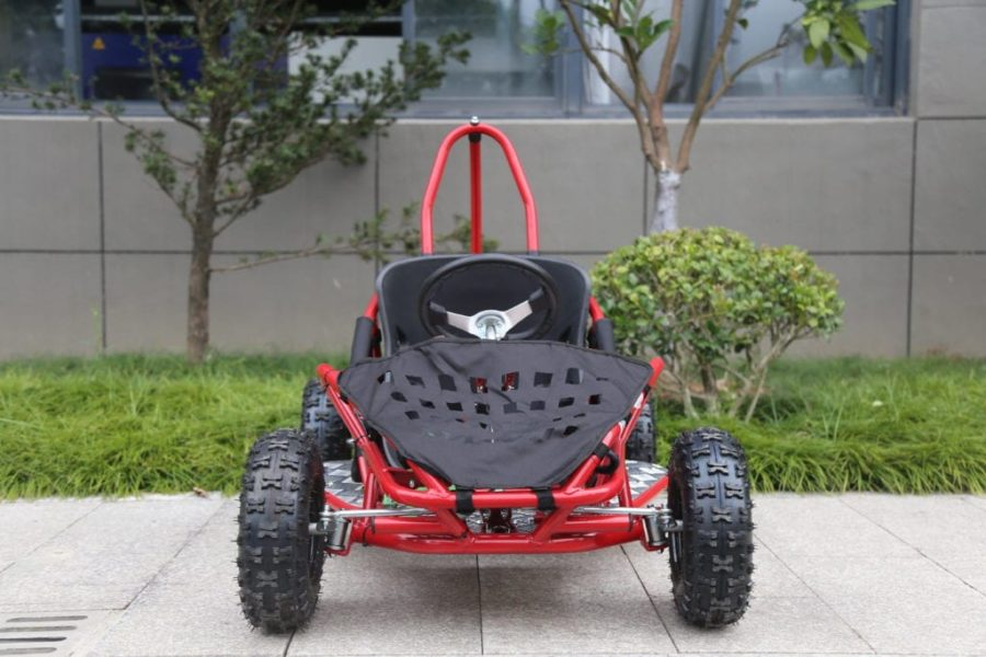 Hawkmoto 80cc Kool Kart Mud Buggy – Red