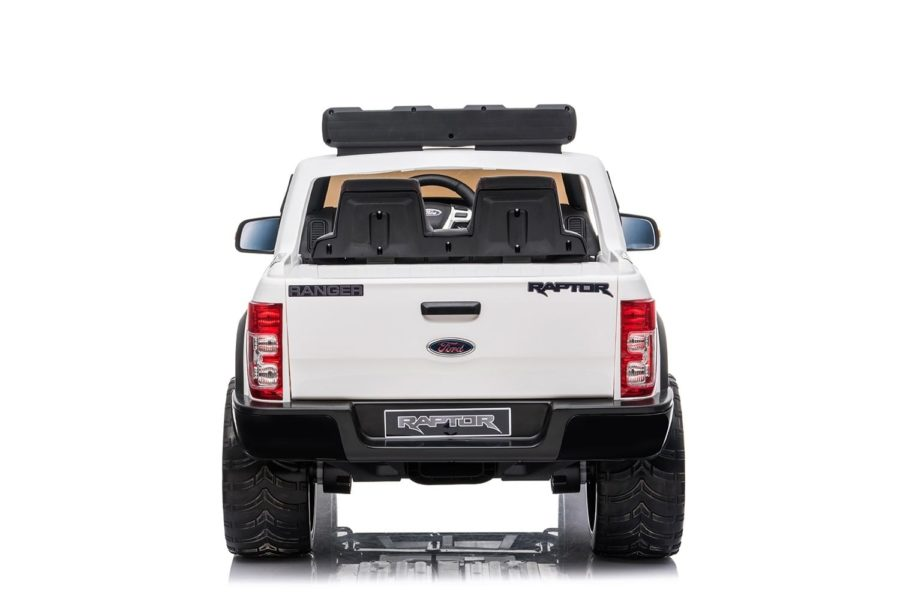 Ford Ranger Raptor 2020 Licenced 12v Kids Ride On – White