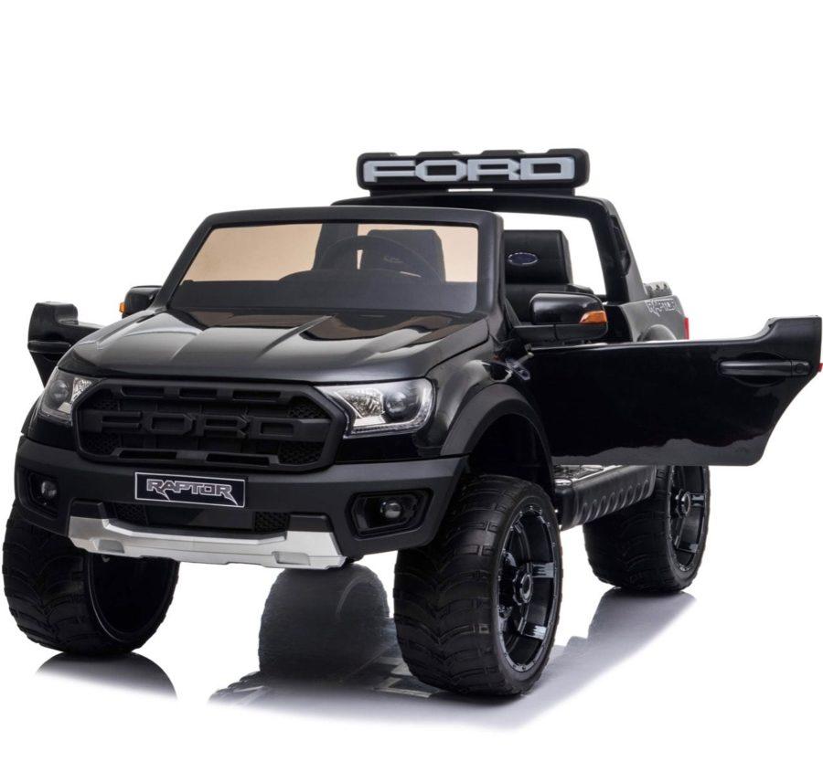 Ford Ranger Raptor 2020 Licenced 12v Kids Ride On – Black