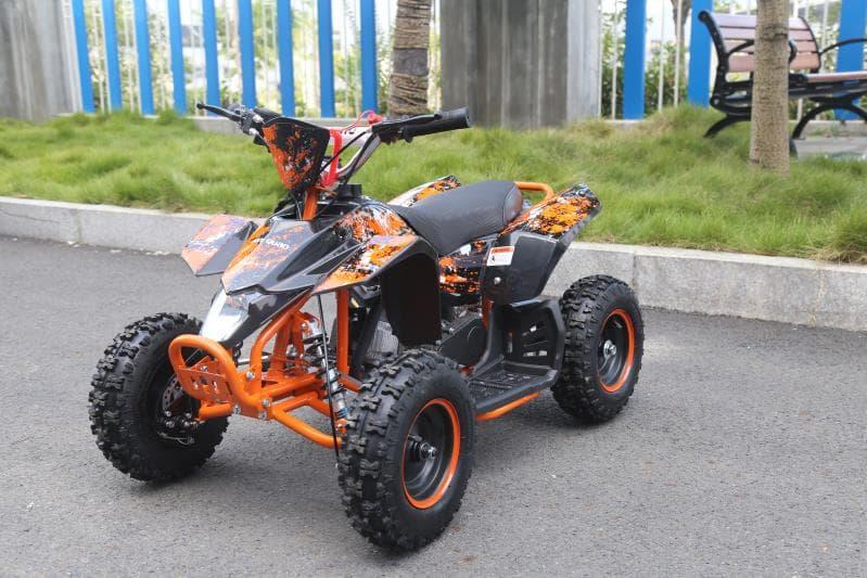 Hawkmoto Avenger 50cc Mini Kids Quad Bike – Orange