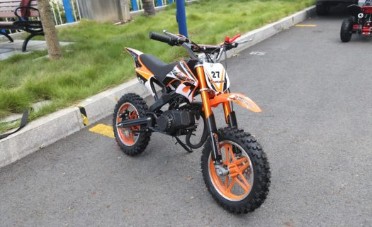 Hawkmoto Blaster 50Cc Kids Mini Moto Scrambler Dirt Bike – Orange