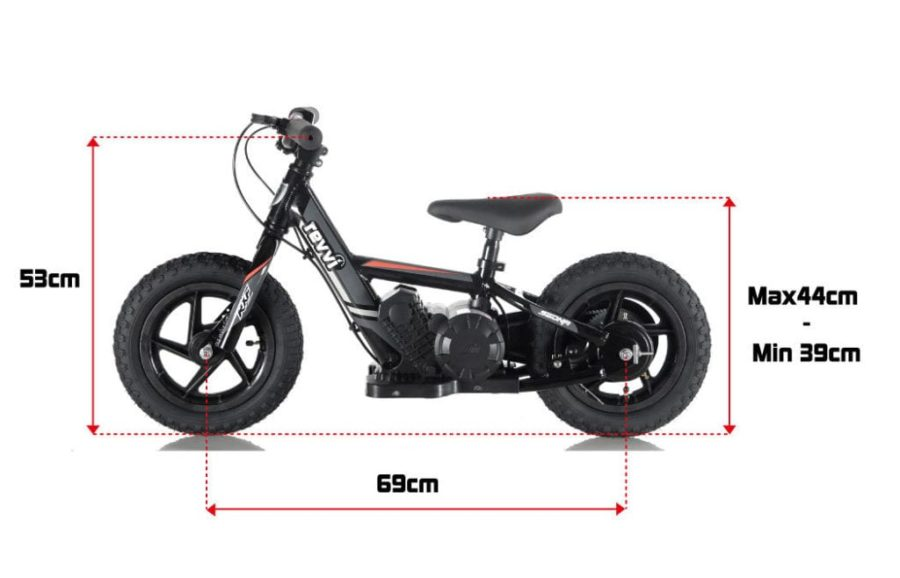 Revvi 12″ Bike – Red