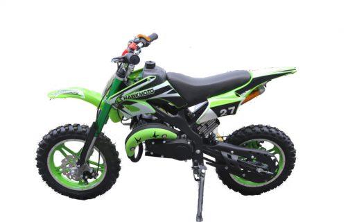 Hawkmoto Blaster 50cc Kids Mini Moto Scrambler Dirt Bike – Green