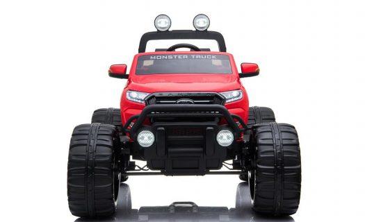 Ford Ranger Ride On Kids 24V Monster Truck 4WD Eva Wheels – Bright Red