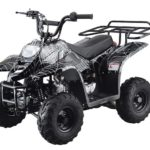 Hawkmoto 110cc Boulder Kids Quad Bike – Venom Black