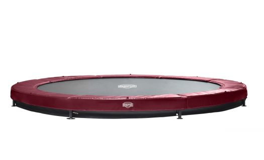 BERG InGround Elite Trampoline 14ft – Red