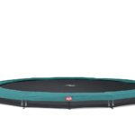 Berg Inground Elite Trampoline 380 12.5ft – Green