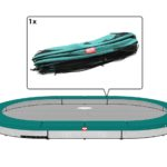 Berg Grand Champion 470 Inground Trampoline – Green