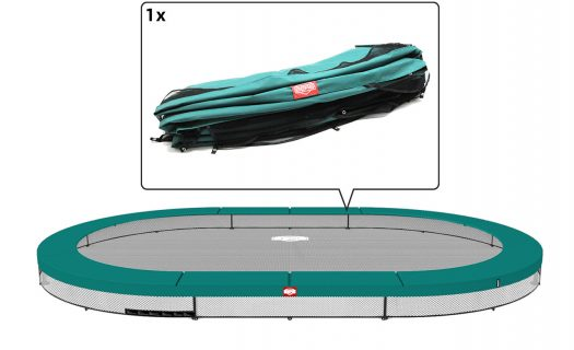 BERG Grand Champion 470 InGround Trampoline – Green