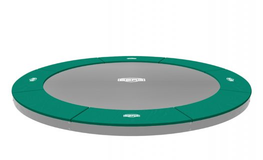 BERG FlatGround Champion Trampoline Green 330 (11 ft)
