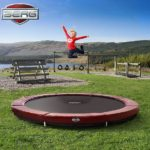 Berg Inground Elite Trampoline 380 12,5ft – Red