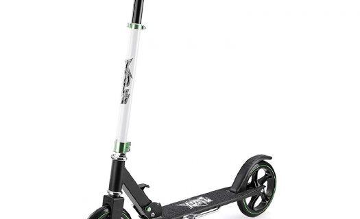 Xoots Large Wheeled Scooter Black