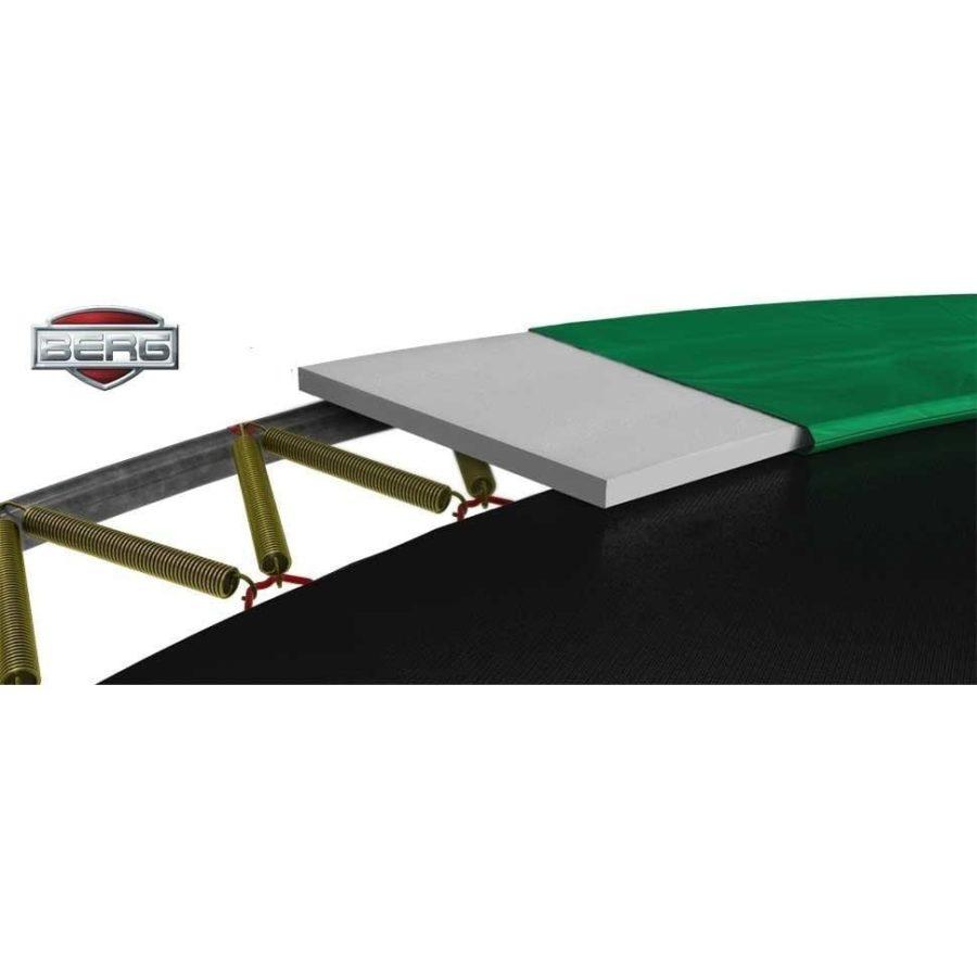 Berg Inground Champion 380 12.5ft Trampoline – Green
