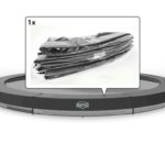 Berg Inground Elite Trampoline 330 11f – Grey