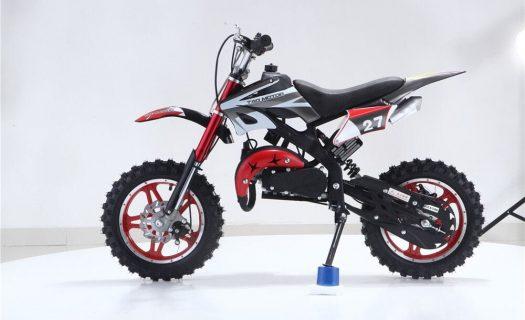 Hawkmoto Blaster 50cc Kids Mini Moto Scrambler Dirt Bike – Red