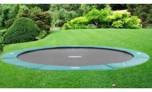 BERG InGround Favorit Trampoline 380 12.5ft – Green