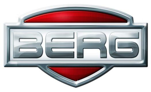 Berg Front Mudguards Black Go Kart Accessory