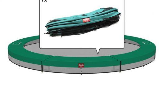 BERG InGround Champion 430 14ft Trampoline – Green