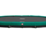 Berg Grand Champion 520 Inground Trampoline – Green