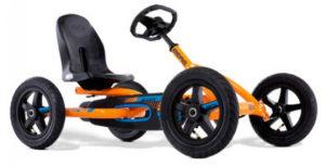 Berg Buddy B-Orange Kids Go Kart - Ride On Toys