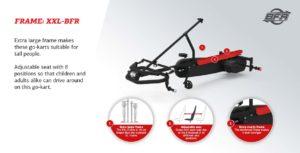 Berg Claas Xxl BFR Large Pedal Go Kart
