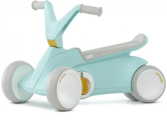 Berg Go2 Mint 2 In 1 Push And Pedal Toddlers Go Kart