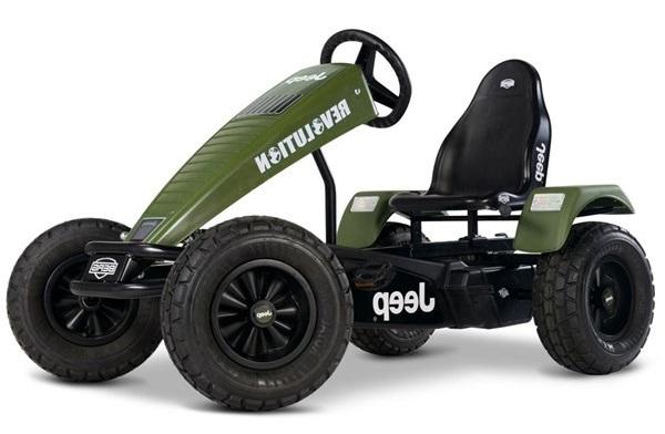 Jeep Revolution Bfr-3 Pedal Go Kart