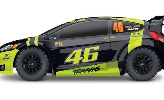 Traxxas 1:18 Latrax VR46 Ford Fiesta ST RTR 4WD Rally TRA750645-VR46